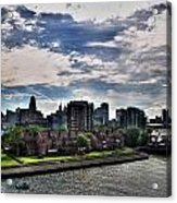 Erie Basin Marina Summer Series 0005 Acrylic Print