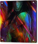 Erotic Explosions Acrylic Print
