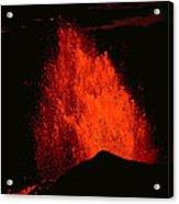 Eruption Acrylic Print