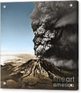 Eruption Of Mount St. Helens Acrylic Print