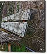 Esp Bench  Acrylic Print