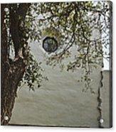 Espiritu Santo Window Acrylic Print