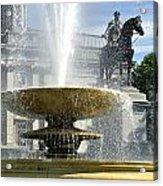 Essential Elements Of Trafalgar Square Acrylic Print