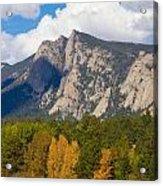 Estes Lake Autumn View  Acrylic Print