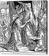 Esther & Ahasuerus Acrylic Print