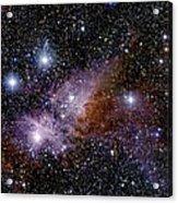 Eta Carinae Nebula, Infrared Image Acrylic Print