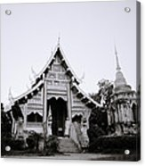 Ethereal Buddhism Acrylic Print