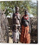 Ethiopia-south Tribeswomen No.1 Acrylic Print