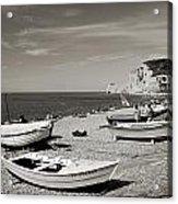 Etretat Beach Acrylic Print