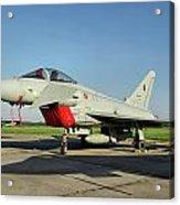 Eurofighter Ef2000 Typhoon Acrylic Print
