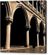 European Stroll Acrylic Print