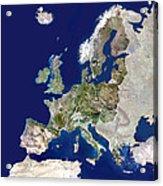 European Union Acrylic Print