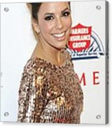 Eva Longoria In Attendance For Padres Acrylic Print by Everett