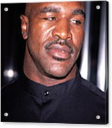 Evander Holyfield At Premier Of In Too Acrylic Print by Everett