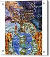 Eve-olution Of Sin Acrylic Print