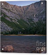 Evening At Chimney Pond  Acrylic Print