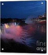 Evening At Niagara Acrylic Print