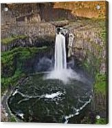 Evening At Palouse Falls Acrylic Print