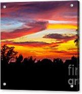 Evening Best Acrylic Print