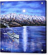 Evening Cruise Queenstown Acrylic Print