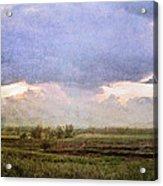 Evening Field Acrylic Print