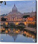 Evening In Rome Acrylic Print