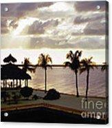 Evening In The Keys - Key Largo Acrylic Print