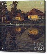 Evening In Ukraine Acrylic Print