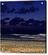 Evening On The Beach Acrylic Print