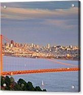 Evening Over San Francisco Acrylic Print