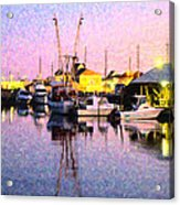 Evening Peace Acrylic Print