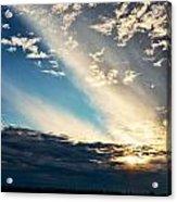 Evening Rays Acrylic Print