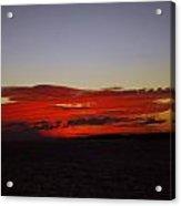 Evening Red Acrylic Print