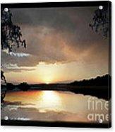 Evening Scene Acrylic Print