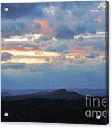 Evening Sky Over The Quabbin Acrylic Print