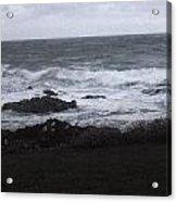 Evening Waves Acrylic Print