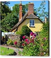 Everyday Life In Somerset Acrylic Print