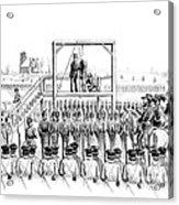 Execution Of John Brown, American Acrylic Print