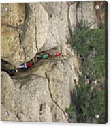 Exiting Cliff Palace Acrylic Print