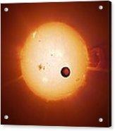 Exoplanet Corot-7b, Artwork Acrylic Print