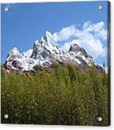 Expedition Everest Acrylic Print