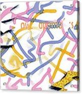Experimental Expectations - Pink Acrylic Print