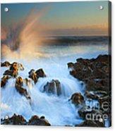 Explosive Dawn Acrylic Print by Mike  Dawson