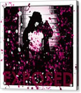 Exposed In Pink Acrylic Print