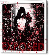 Exposed In Red Acrylic Print