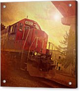 Express Train Acrylic Print by Joel Witmeyer