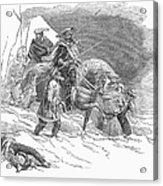 Expulsion Of Jews, 1844 Acrylic Print