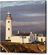Exterior Of Fanad Lighthouse Fanad Acrylic Print