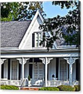 Exterior Of Victorian Style House Acrylic Print