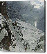 Extreme Skier Jean Franck Charlet Acrylic Print